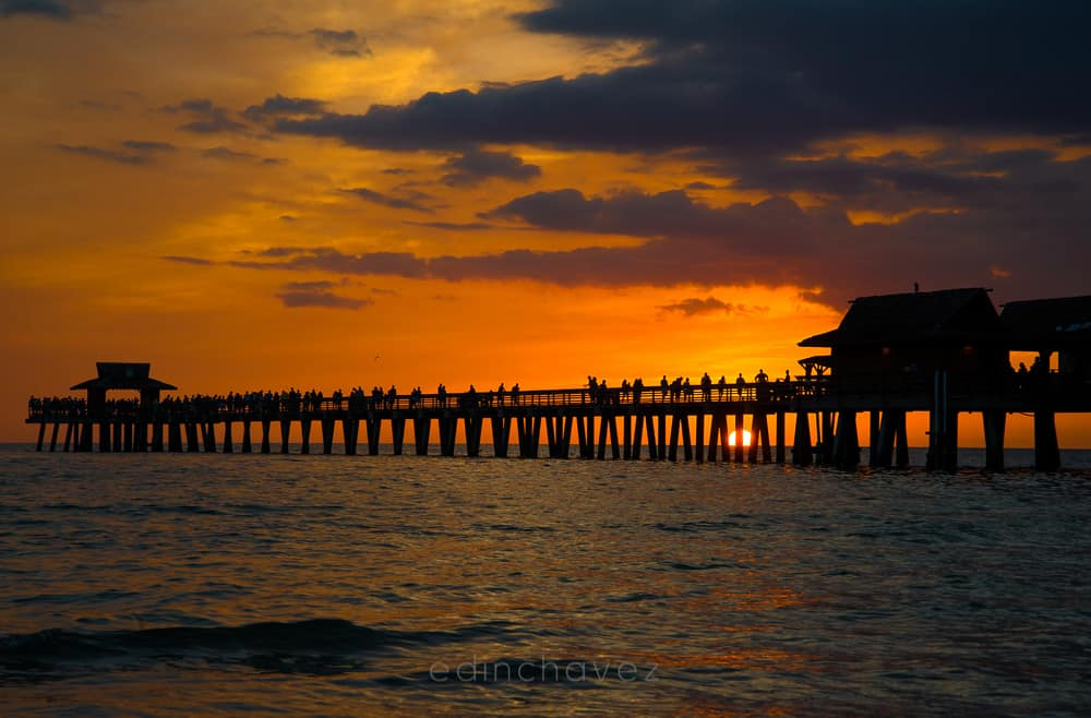 Naples Florida Sunset from the Pier