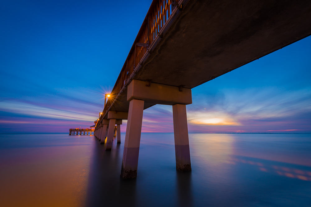 Fishing pier fort myers beach for Fort myers beach fishing pier