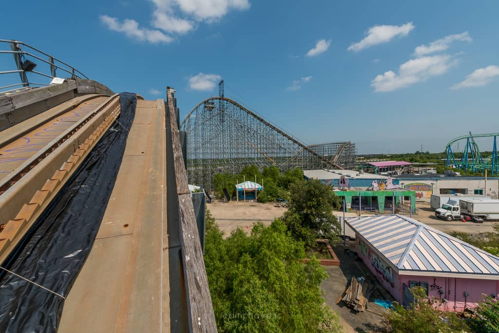 Abandoned Six Flags New Orleans-4