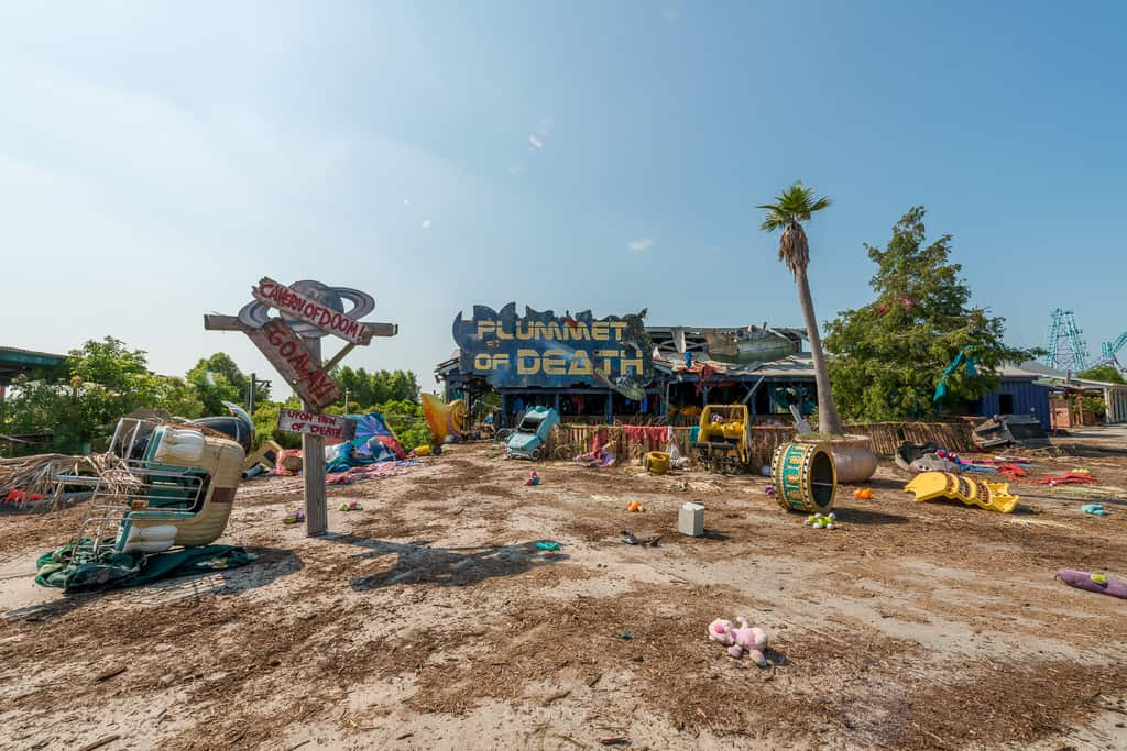 Abandoned Six Flags New Orleans-41