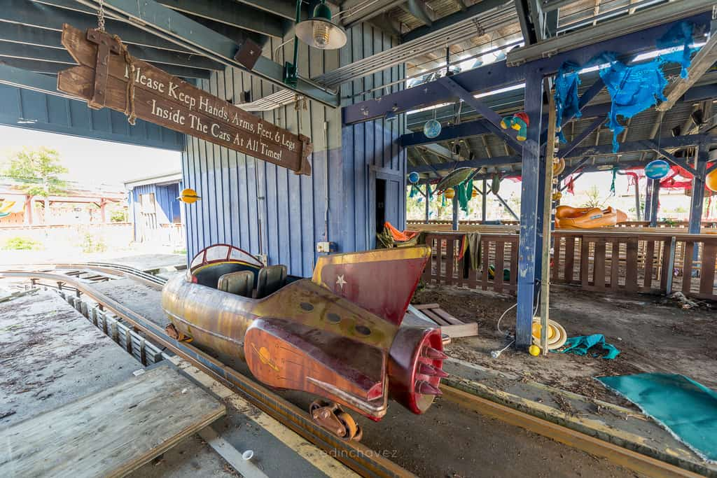 Abandoned Six Flags New Orleans-47