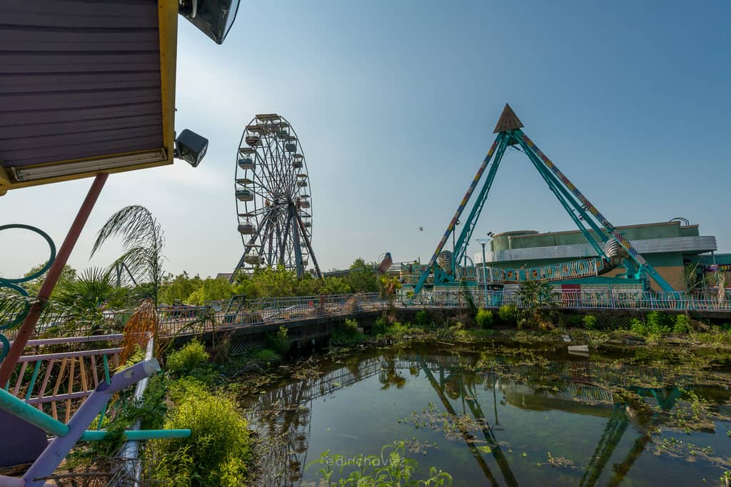 Abandoned Six Flags New Orleans-73