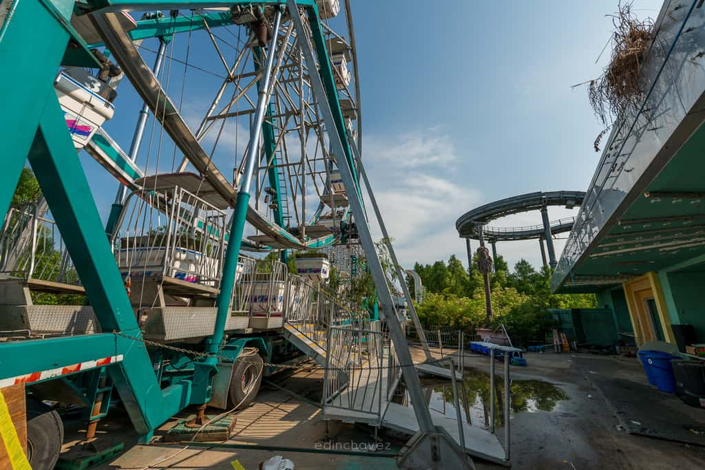 Abandoned Six Flags New Orleans-78