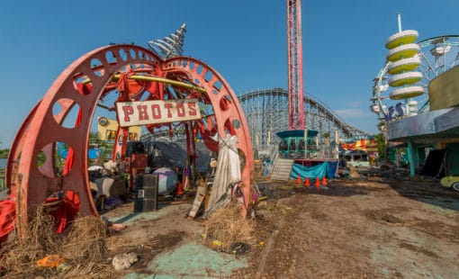 Abandoned Six Flags New Orleans-86