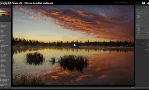 How To Edit A landscape Photo