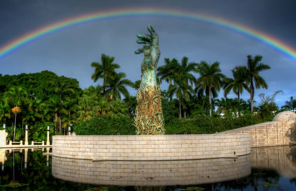Shot of the Day-The Creation Under The Rainbow