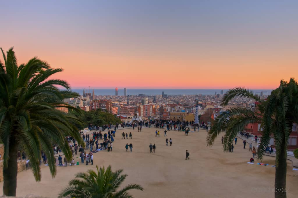 Shot of the Day-View from Parc Guell