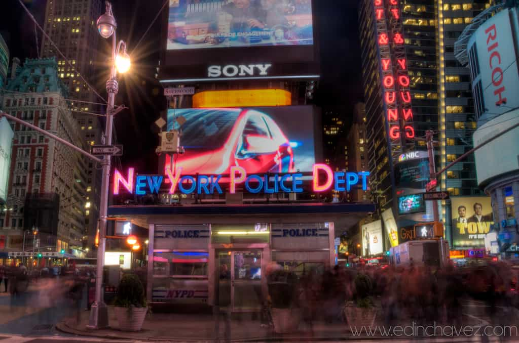 Shot of the Day-New York Police Dept
