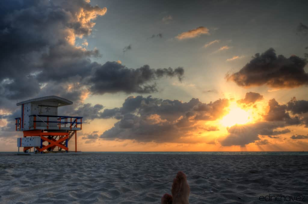 Shot of the Day-Rise and Shine in SoBe