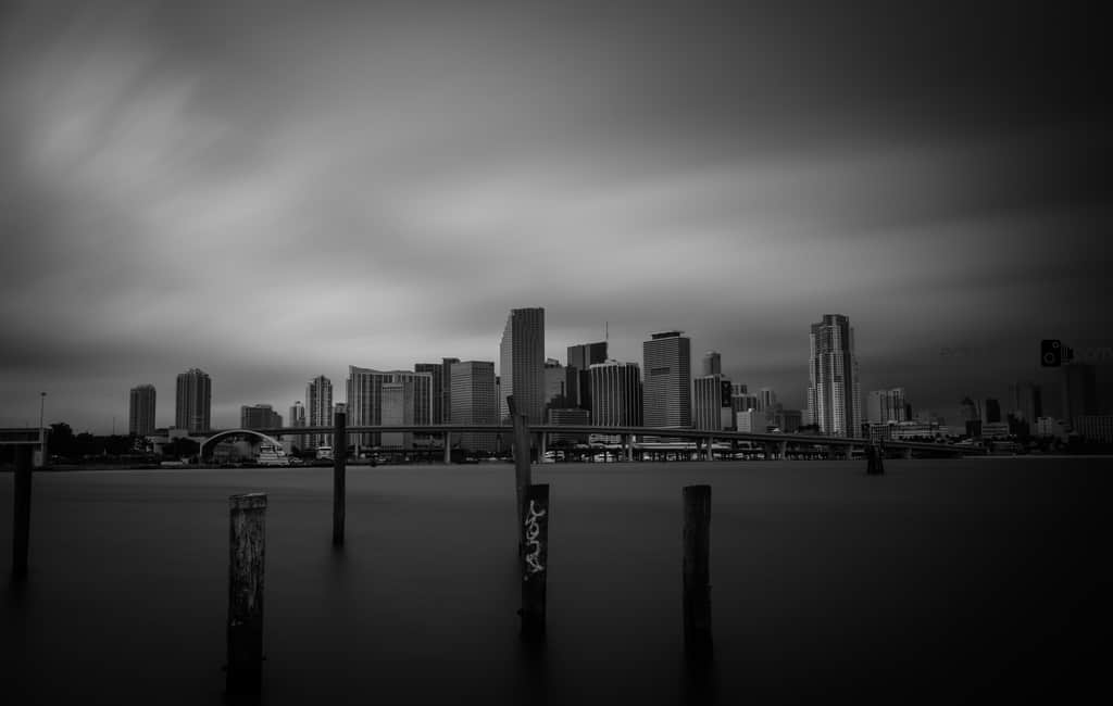 Miami Long Exposure Photogarrph