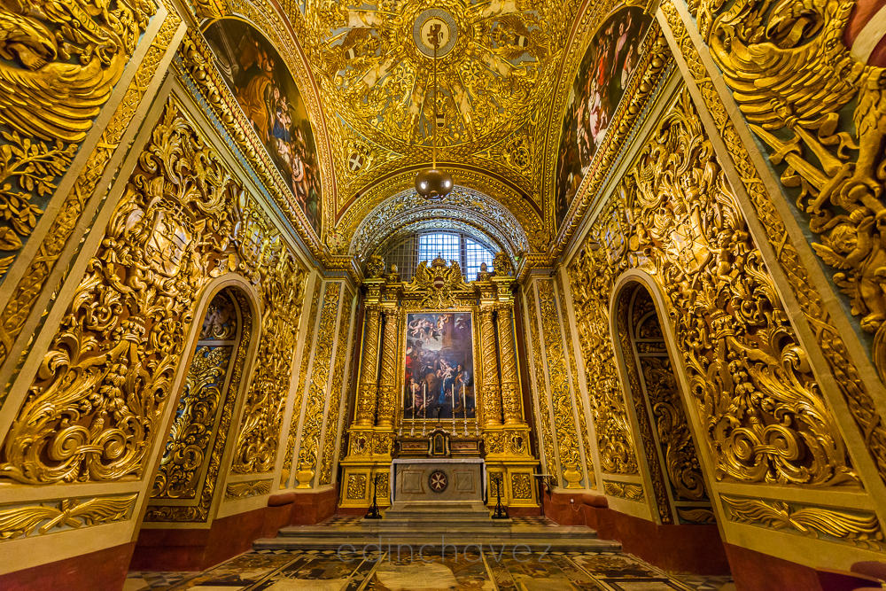 Church made out of pure gold