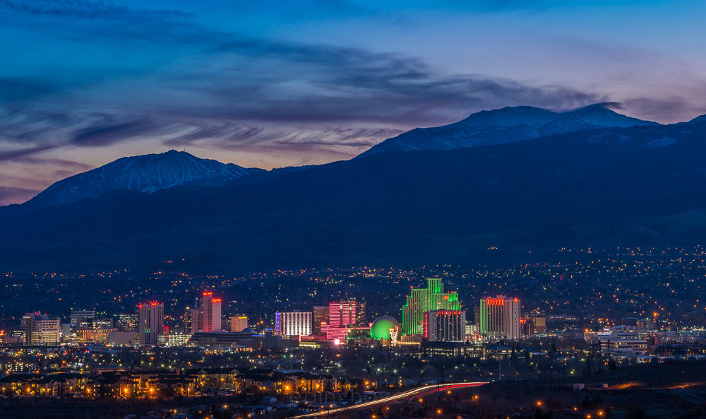 Reno Nevada Skyline 2