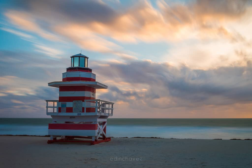 How to blur the clouds with filters