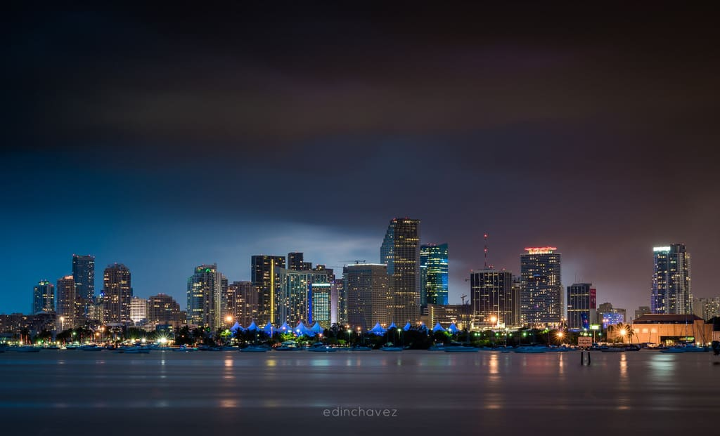 Miami Skyline Best Miami Beach Photography Spots