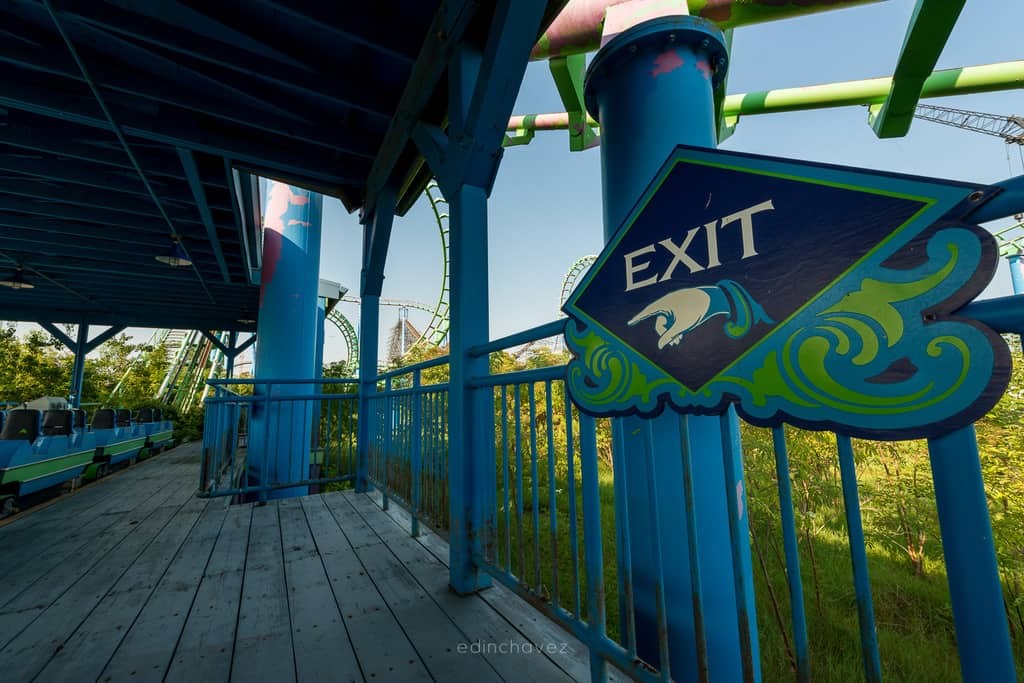 Abandoned Six Flags New Orleans-114