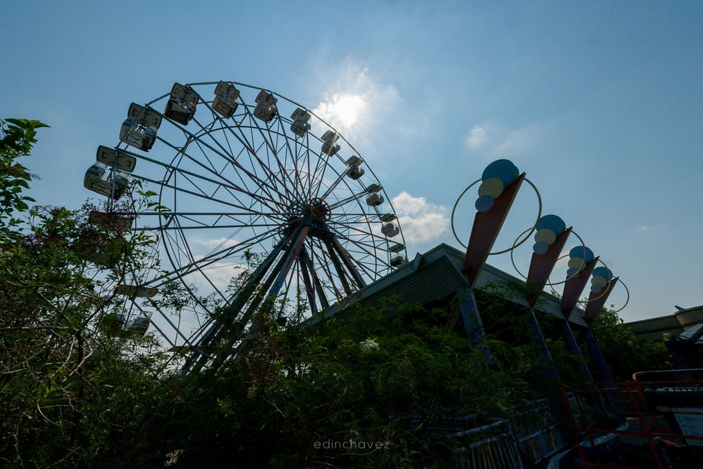 Abandoned Six Flags New Orleans-18