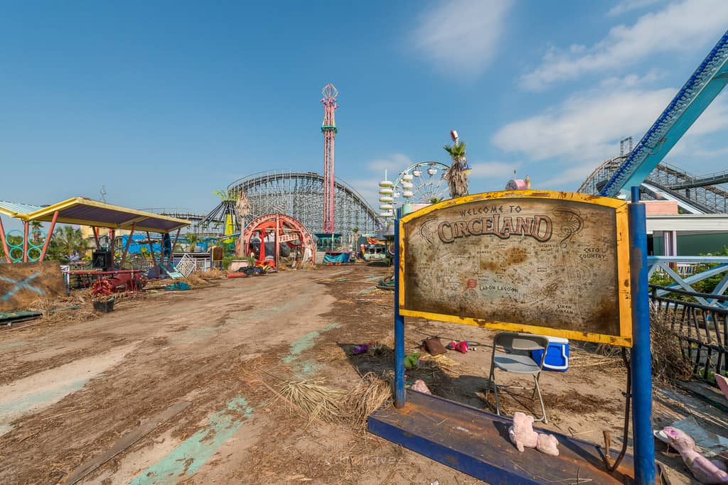 Abandoned Six Flags New Orleans-72