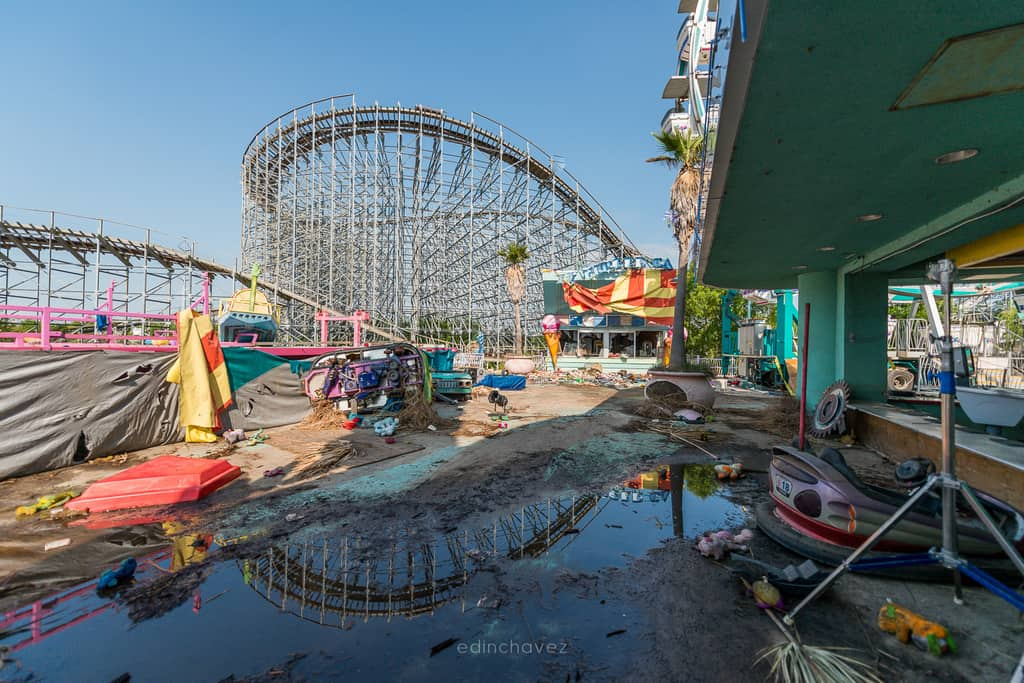 Abandoned Six Flags New Orleans-84