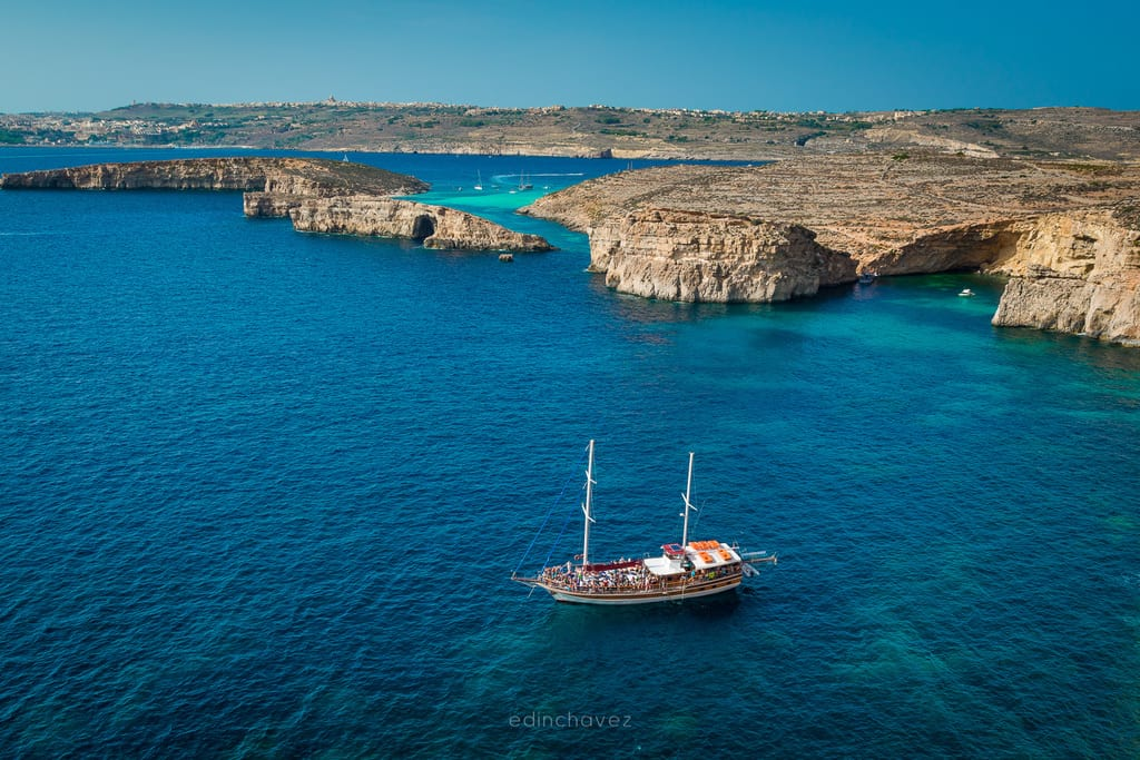 The amazing Malta watres and the beautiful blue lagoon