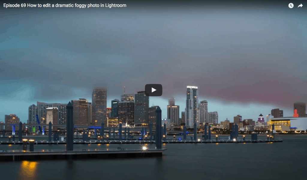 How to edit a dramatic foggy photo in Lightroom
