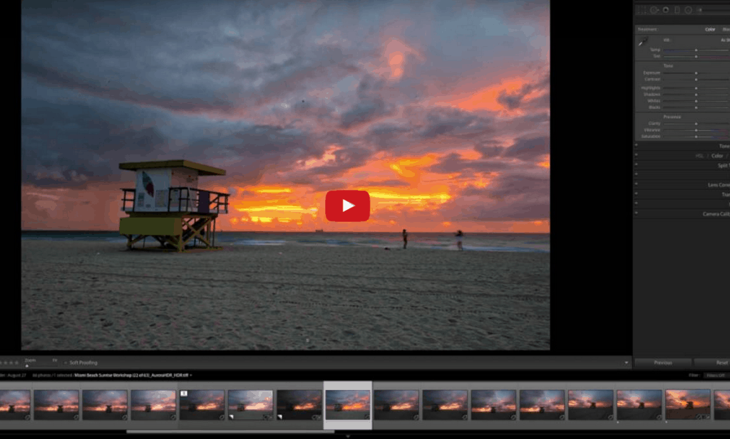 How to create an amazing HDR with one exposure in Lightroom