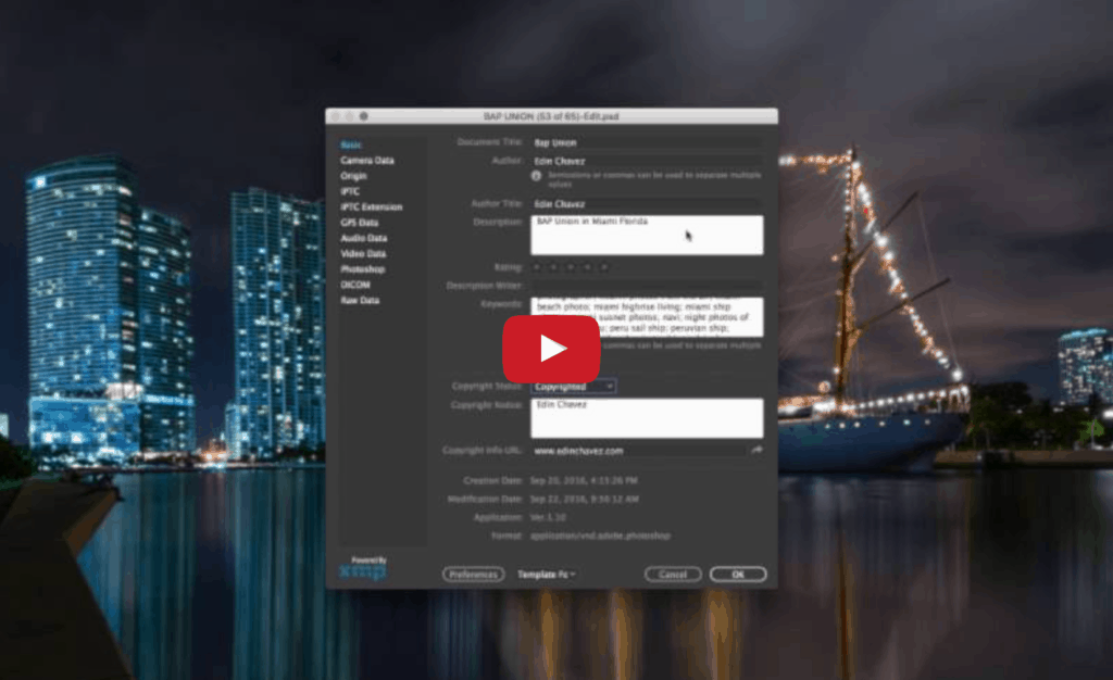 How to add keywords to your photos in Photoshop