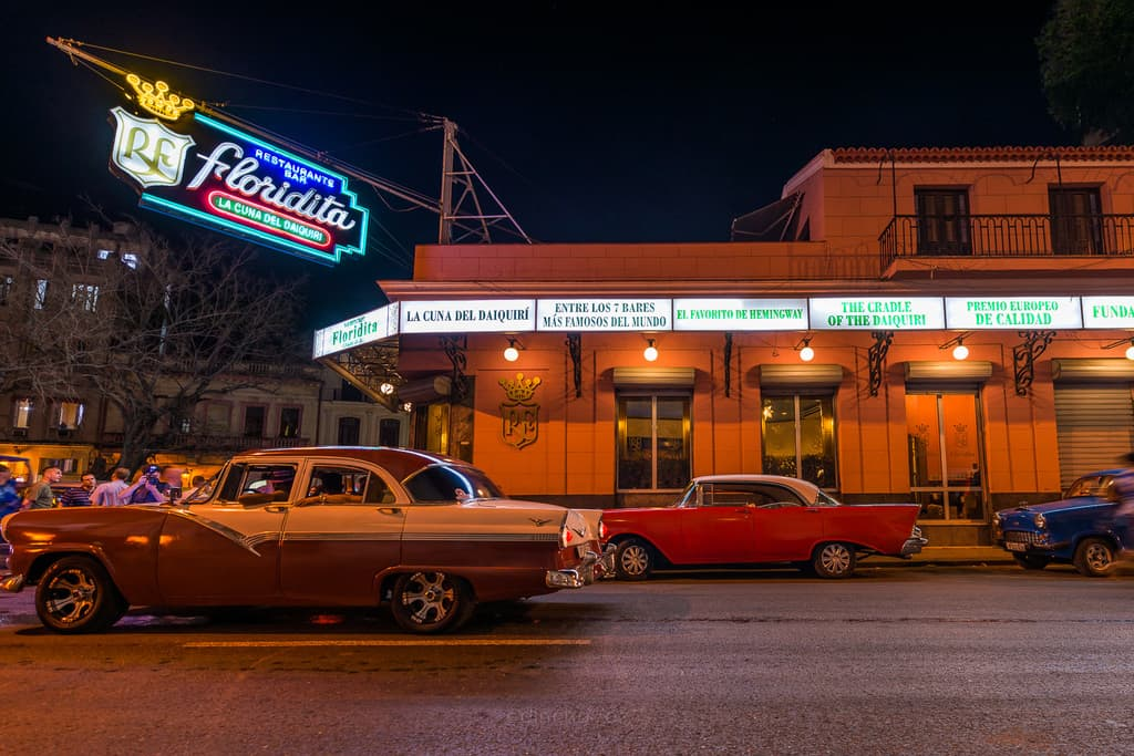 La Floridita best places to photography in havana cuba hemingways bar