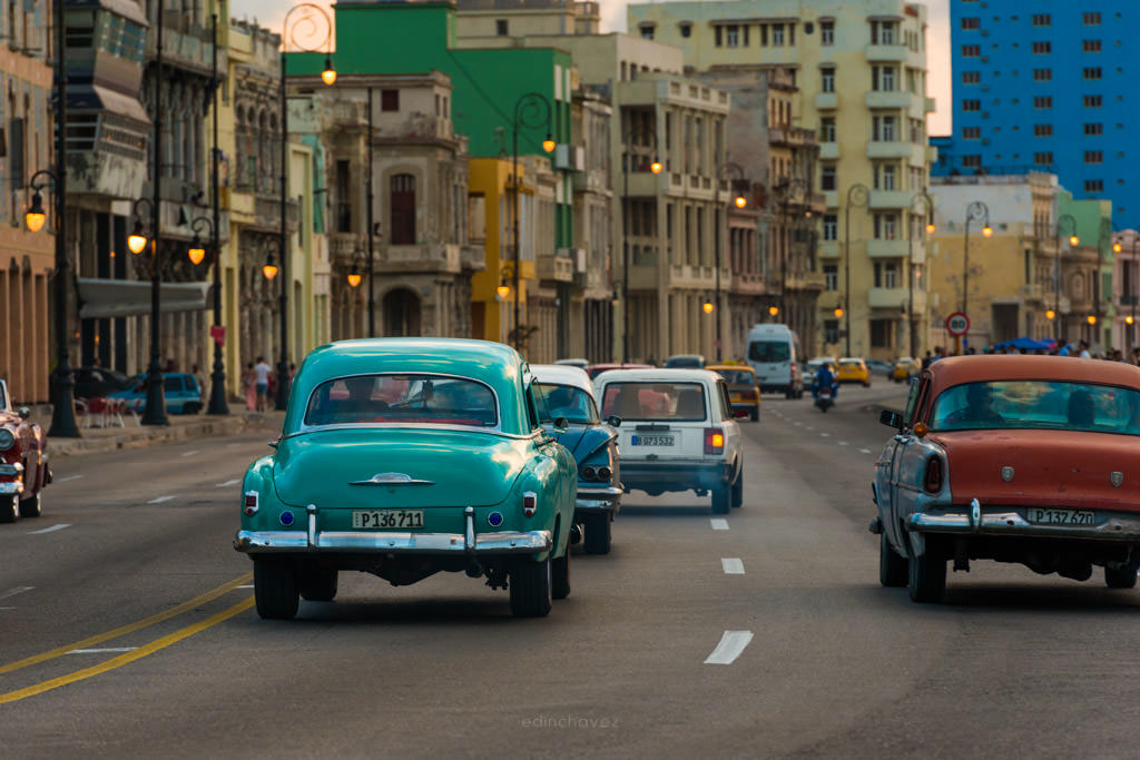 Best photography spots in havana cuba malecon at sunset, where do i photograph the street with cars in havana