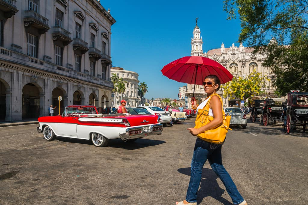 Parque central havana best places to photograph in Cuba