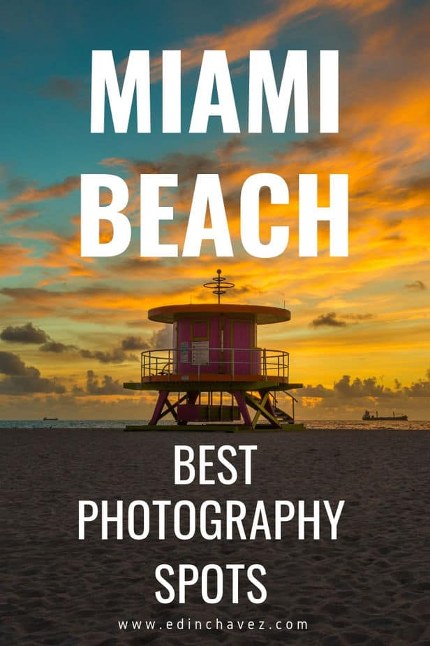 Best photography spots in Miami Beach florida