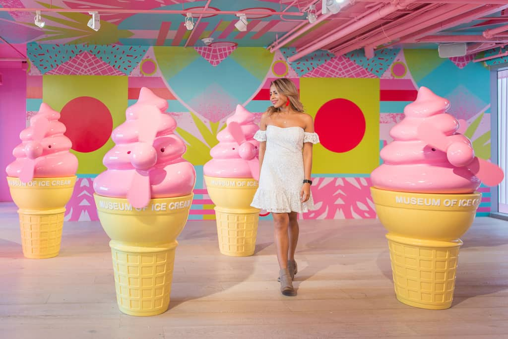 Museum of Ice Cream Miami a place as colorful as you would imagine