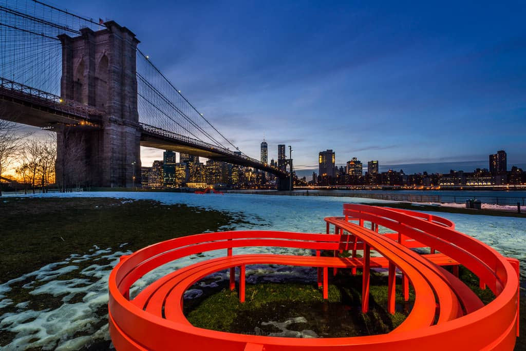 Best Photography Spots In Brooklyn New York Main Street Park The Old Bakery Fulton Ferry State Park
