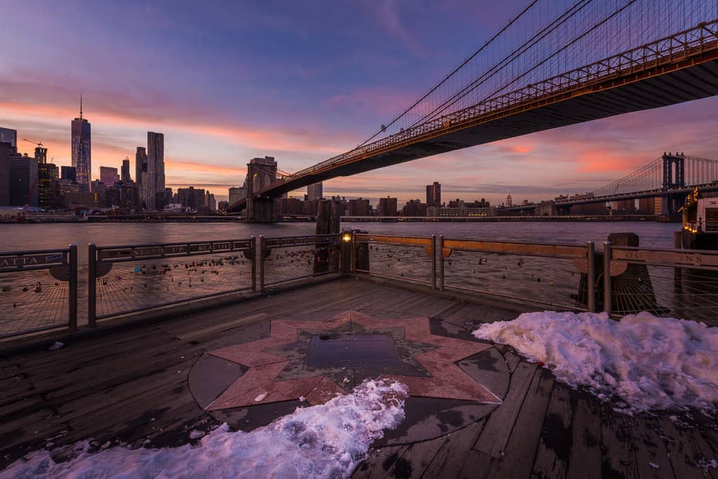Best Photography Spots in New York City Brooklyn Bridge Lookout