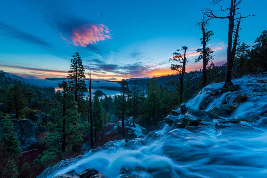 Best places to shoot in lake tahoe eagle falls