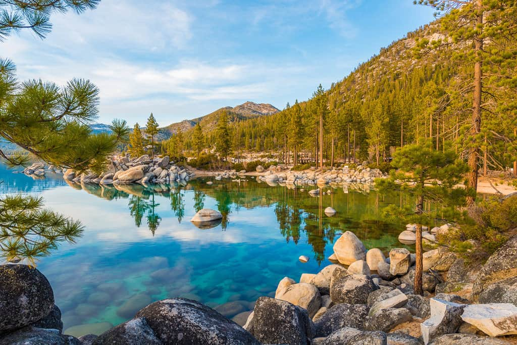 Best Photo Locations Lake Tahoe Rocks