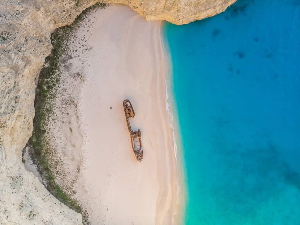 Zakynthos Navagio Shipwreck Beach Greece