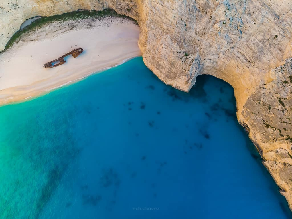 how to get to Zakynthos Navagio Shipwreck Beach Greece