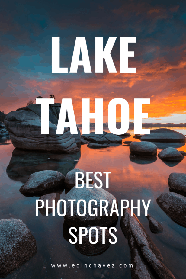 Best places to take wedding photos in lake tahoe