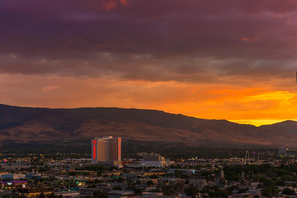 best places to watch the sunset reno nevada
