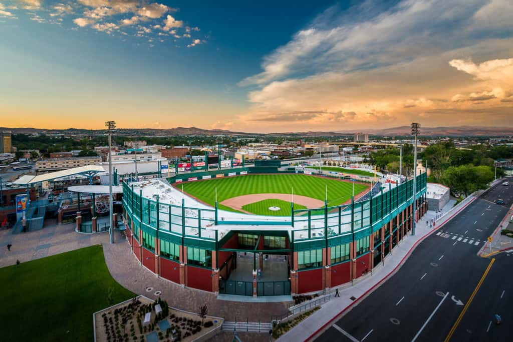 best places to photograph reno nevada baseball stadium
