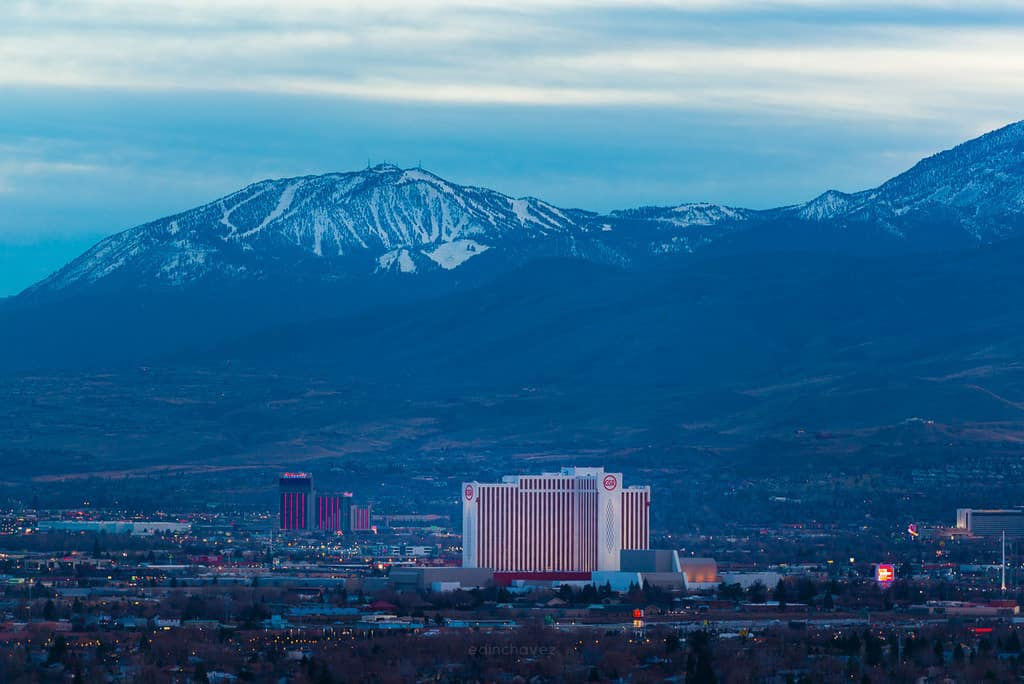 best Reno Nevada photography spots gran sierra resort