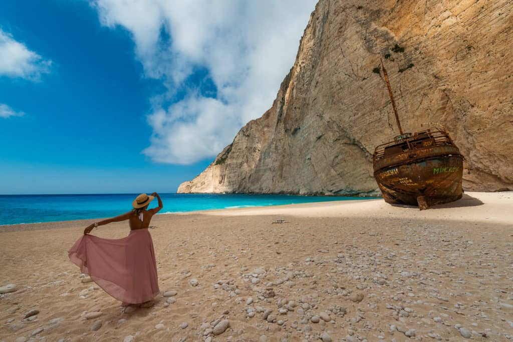Navagio Smugglers cove