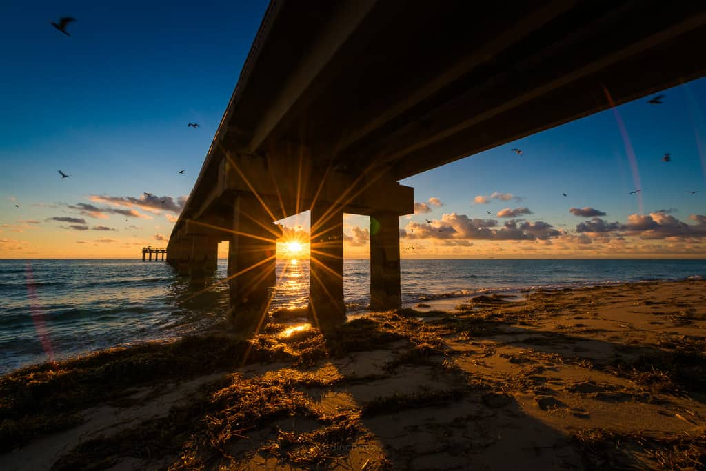 best photography spots Miami Sunny Isles Pier Sunrise