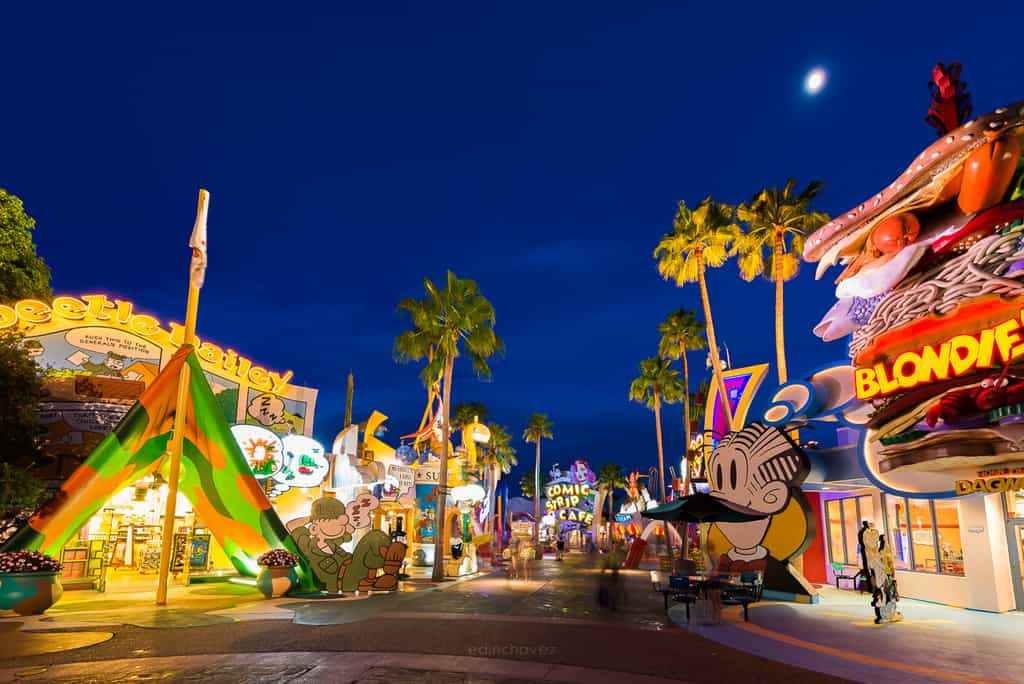 Best Photography Spots In Orlando Universal Blondies