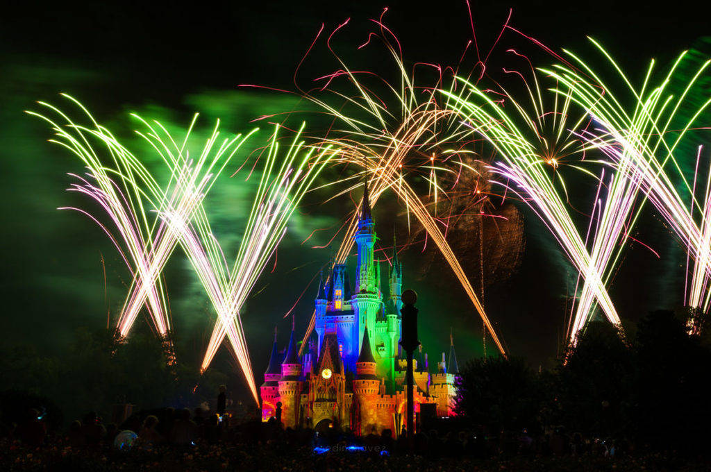 Best Photography Spots In Orlando Florida Disney world Fireworks