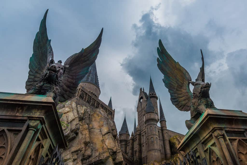 Best Photography Spots In Orlando Florida Harry Potter Castle Entrance
