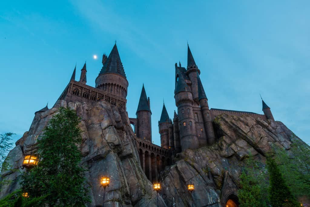 Best Photography Spots In Orlando Florida Harry Potter Castle