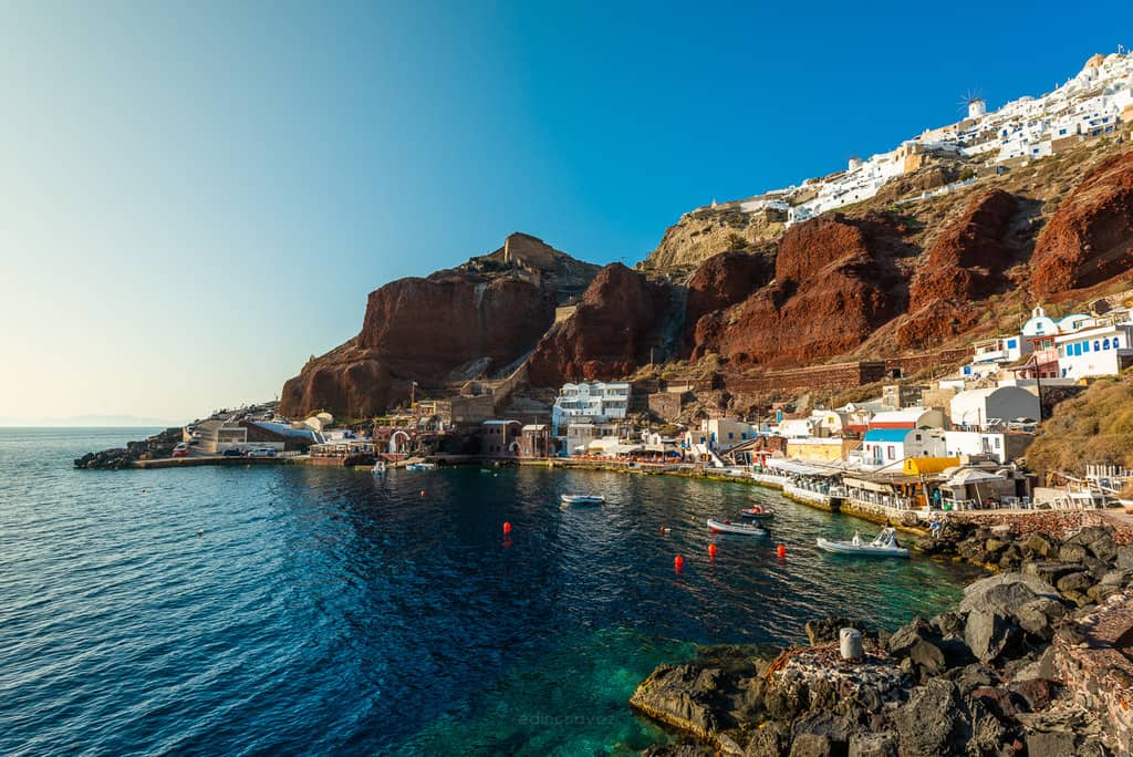 Greece Ammoudi Best Places To Photograph In Santorini La Oia