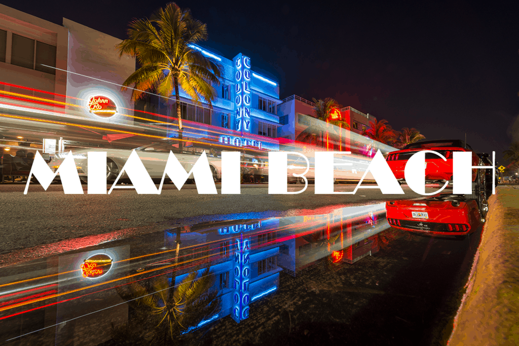 Best Places To Photograph In Miami Beach