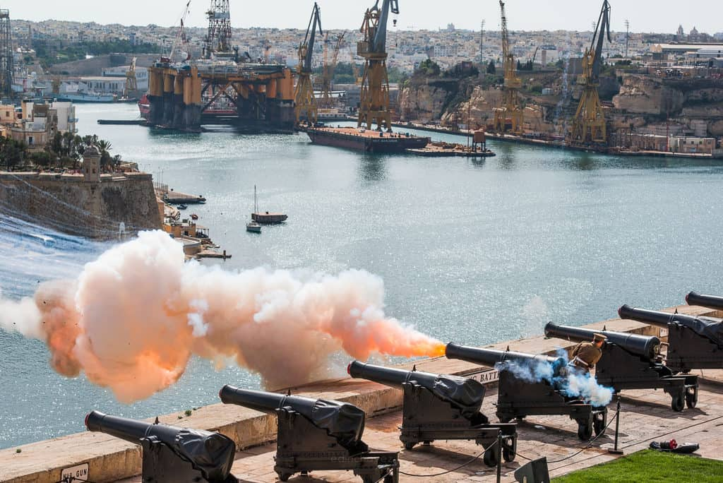Saluting Battery Valletta Best Photos